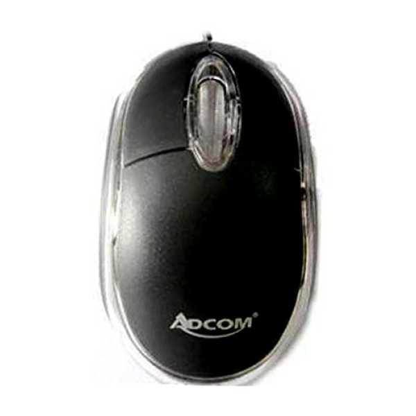 Adcom 056 USB Optical Mouse - Black