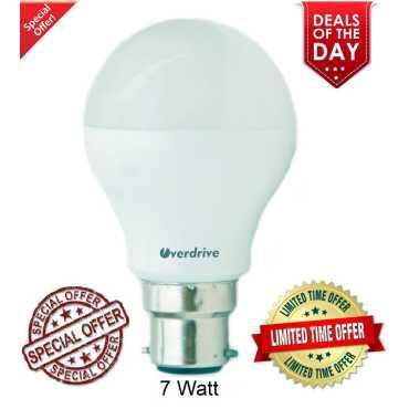Overdrive 7W B22 LED Bulb (Cool Day Light, Pack of 20)