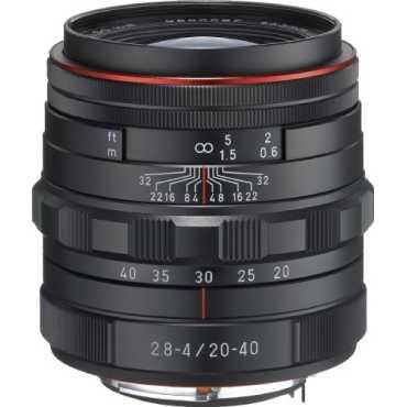 Pentax K-Mount HD DA 20-40mm F/2.8-4 ED DC Weather Resistant Zoom Lens  - Silver | Black