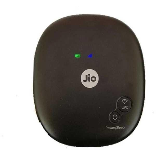 Reliance jiofi-4 150 mbps WiFi Router - Black