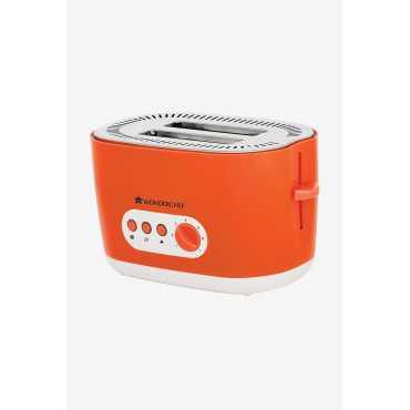 Wonderchef Regalia 780W Pop Up Toaster - Green | Orange