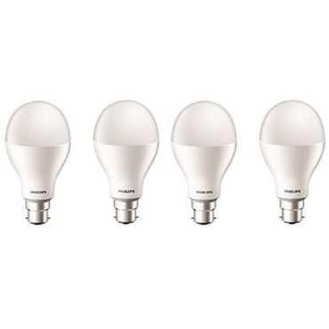 Philips Stellar Bright 20W B22 LED Bulb (Cool Day Light, Pack Of 4) - White
