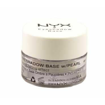 NYX Eye Shadow Base (White Pearl) - White