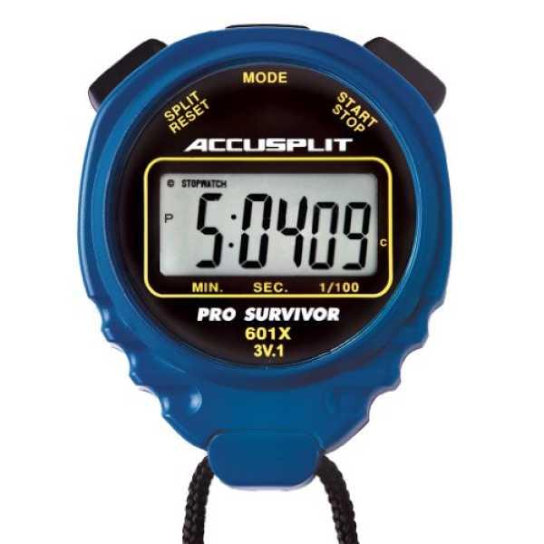 Accusplit A601X Pro Survivor Pedometer - Blue