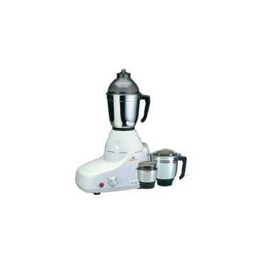 Bajaj GX-8 750W Mixer Grinder (3 Jars) - White