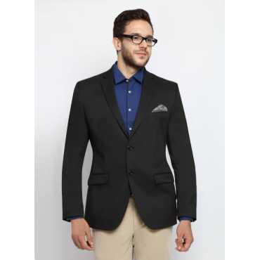 Solid Single Breasted Formal Men's Blazer