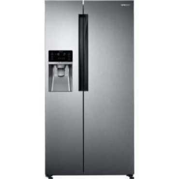 Samsung RS74R5101SL 676 L Inverter Frost Free Side By Side Door Refrigerator