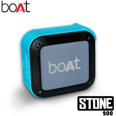 Boat Stone 200 Portable Bluetooth Speaker - Black   Orange   Blue