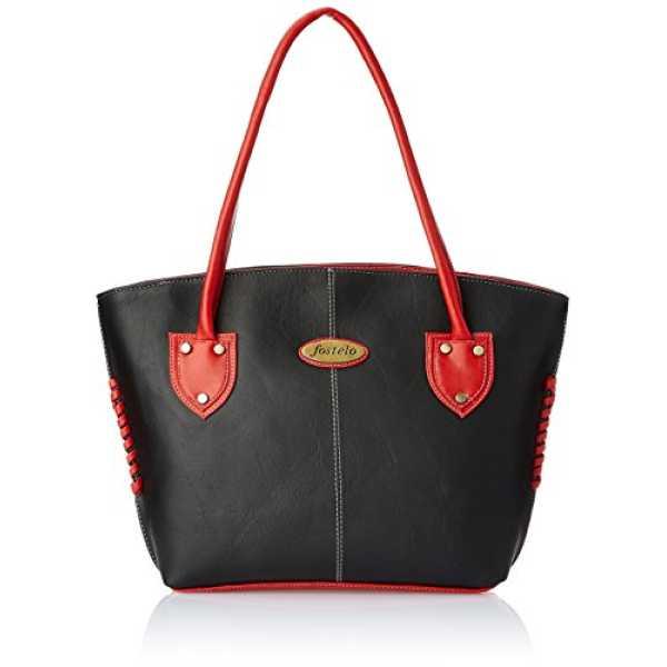 Women s Squirel Shoulder Bag Black FSB-363