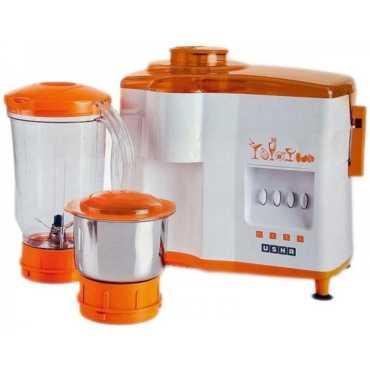 Usha popular 3442 450W Juicer Mixer Grinder - Orange | White
