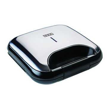 Usha 3772 750W 2 Slice Sandwich Toaster - Black | Steel | Silver
