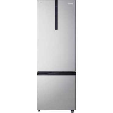 Panasonic NR-BR347RSX1 342L 2 Star Double Door Refrigerator (Shining Silver) - Silver