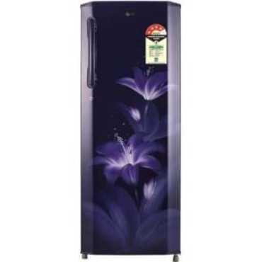 LG GL-B281BBGX 270 L 4 Star Inverter Direct Cool Single Door Refrigerator