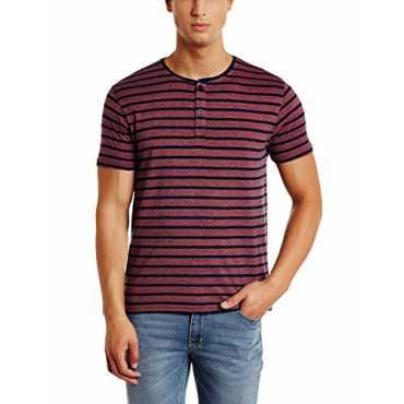 Qube by Fort Collins Men's T-Shirt (177-hstr_M_Multi-Color-10)
