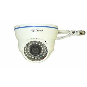 IWATCH IWD-2161 Dome CCTV Camera - Blue