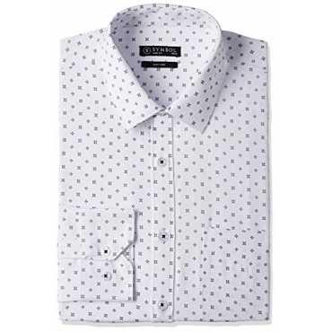 Symbol Men's Formal Shirt (S17MBS123_42_White)