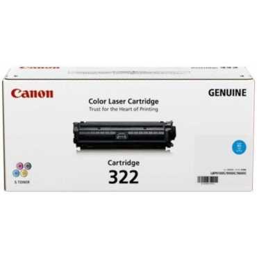 Canon 322C Cyan Toner Cartridge - Blue