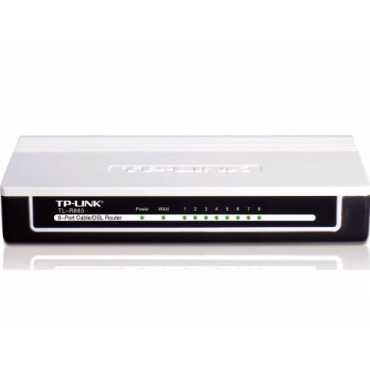 TP-LINK TL-R860 8-Port Broadband Router - Black/white