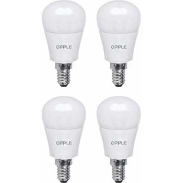 Opple 3.5W E14 LED Bulb (Warm White, Pack Of 4) - White