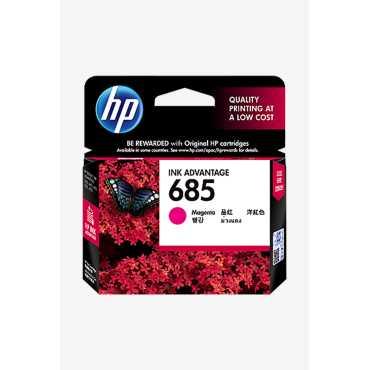 HP 685 Magenta Ink Cartridge - Pink