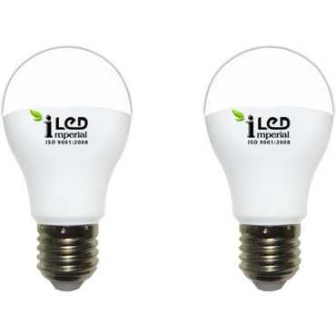 Imperial 10W-CW-E27-3624 Screw LED Bulb (White, Pack Of 2) - White