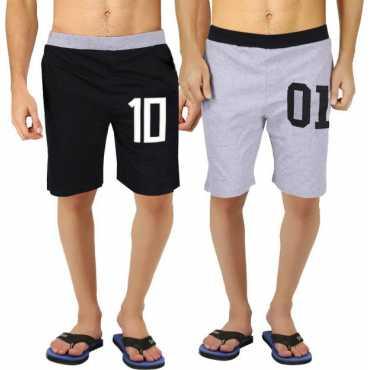 Hotfits Graphic Print Men s Multicolor Basic Shorts