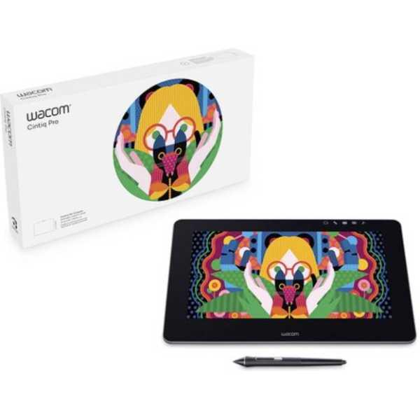 Wacom Cintiq Pro (DTH1320/K4-C) 14.75 x 9.75 inch Graphics Tablet - Black