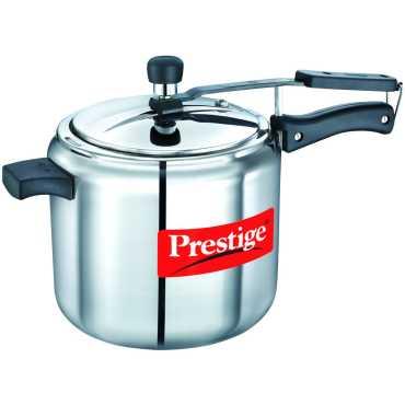 Prestige Nakshatra Alpha Stainless Steel 7 L Pressure Cooker Induction Bottom Inner Lid