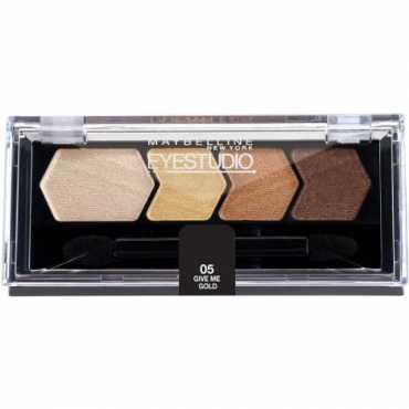 Maybelline Eye Studio Color Plush Silk Eye Shadow Give Me Gold 05