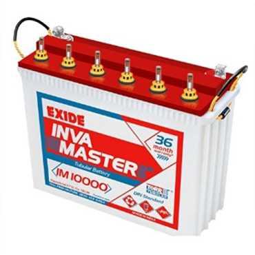 Exide Inva Master 10000 Battery - White