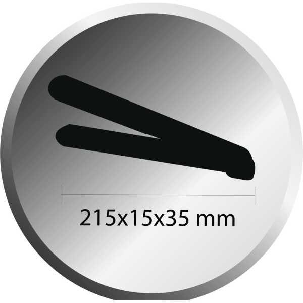 Agaro HS 6511 Instastraight Nano Hair Straightener - Purple