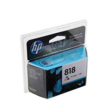 HP 818 Tricolor Ink Cartridge - Tri-color