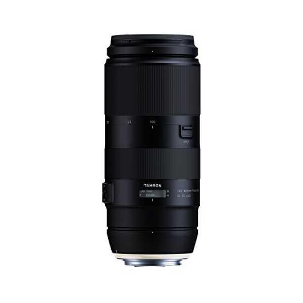 Tamron 100-400mm F/4.5-6.3 Di VC USD (For Canon DSLR) - Black