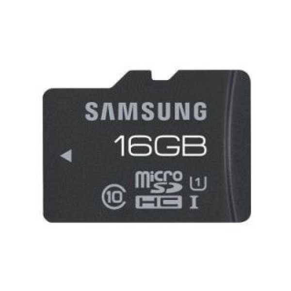 Samsung MB-MGAGB 16GB Class 10 MicroSDHC Memory Card
