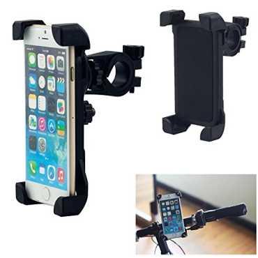 Tarkan Adjustable 360 Degree Mount Universal Mobile Phone Holder - Black