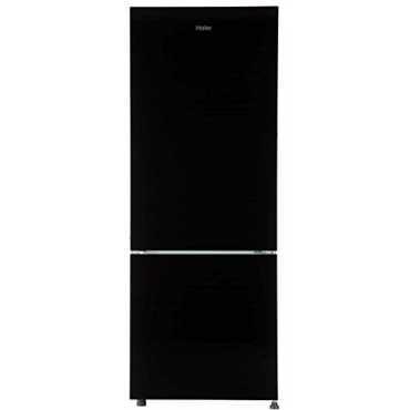 Haier HRB-2963CKG-E 276 L 3 Star Frost Free Double Door Refrigerator - Black