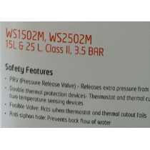Orient Actus WS1502M 15 Litres Storage Water Geyser