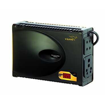V-Guard Crystal Plus Smart Voltage Stabilizer - Black
