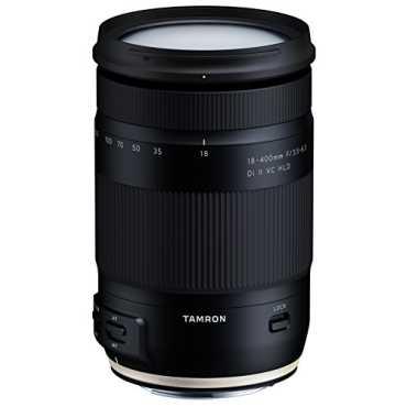 Tamron 18-400mm F/3.5-6.3 Di II VC HLD Lens (For Canon DSLR) - Black