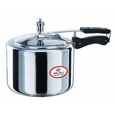 Bajaj PCX 33 Stainless Steel 3 L Pressure Cooker (Inner Lid) - Silver