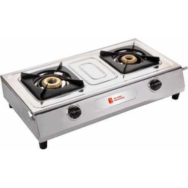 Blue Eagle Genius Stainless Steel Manual Gas Cooktop (2 Burners) - Blue