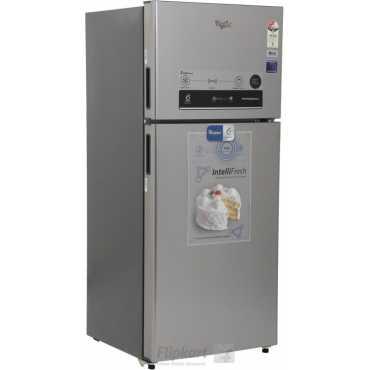 Whirlpool Pro 425 Elite 410 Litres 3S Double Door Refrigerator (Alpha Steel) - Silver   Steel