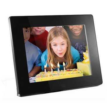 Aluratek  ADMPF108F 8-inch Digital Photo Frame (512MB) - Black