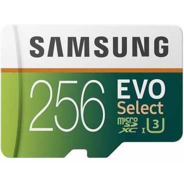 Samsung EVO Select 256 GB MicroSDXC Class 10 100 MB/s  Memory Card