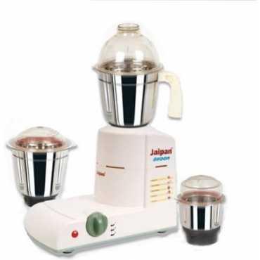 Jaipan Dhoom 500W Mixer Grinder - Off White