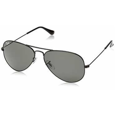Standard Aviator Unisex Sunglasses (RB3025 L2823 58 14|58 millimeters|Green)