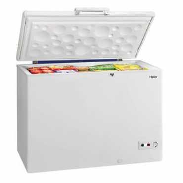 Haier HCC-345HTQ 345L Deep Freezer Refrigerator - White