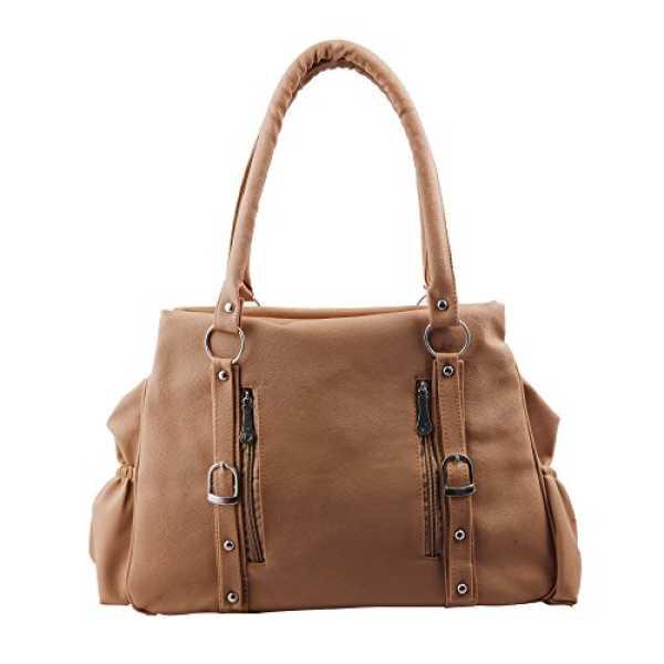 Relevant Yield Women s Shoulder Bag Beige BEIGE-0014