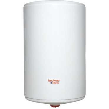 Hindware HS25MIW20V 25Ltr Vertical Water Geyser - White | Silver