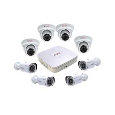 CP PLUS CP-HDCVI 8CHD-4IRD-4L2D 8Channel DVR + 4 Dome IR + 4 Bullet IR CCTV Camera